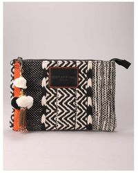 Replay Tapestry Clutch Bag Colour: Multicolour