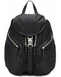 Lanvin Men's Lmbgfa00davip2010 Black Polyamide Backpack