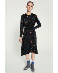Custommade• - Albina Anthracite Black Dress - Lyst