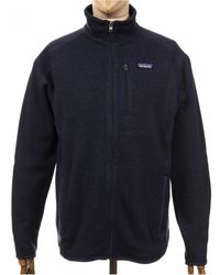 Patagonia Better Jumper Fleece Jacket - New Navy Colour: Neo Navy, Si - Blue