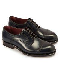 Brioni Milano Derby Shoes - Black