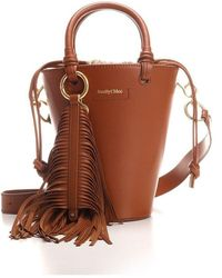 See By Chloé - See By Chlo㉠Women's Chs21usb05980242 Brown Other Materials Handbag - Lyst