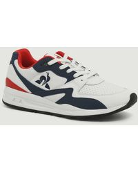 Le Coq Sportif Lcs R800 Sneakers Optical White Pure Red