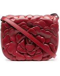 Valentino Garavani - Women's Uw0b0i02jbz0ro Red Leather Shoulder Bag - Lyst