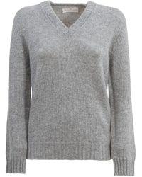 Tabaroni Cashmere Tabaroni Sweater - Gray