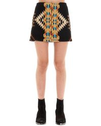 Jessie Western Nightweaverskirtcolo Color Skirt - Black