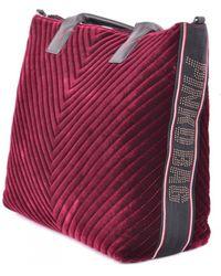 Pinko - Tote Bag In Burgundy - Lyst