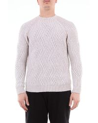 Circolo 1901 1901 Wool Crew Neck Sweater - White