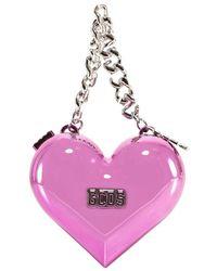 Gcds Heart-shaped Clutch - Pink