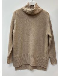 Riani Marble Roll Neck Knitted Sweater 187740 8173 838 - Brown