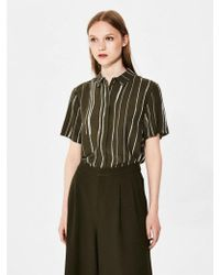 SELECTED - Kai Short Sleeve Shirt - Lyst