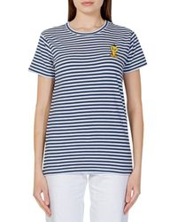 MOA Striped T-shirt - Blue