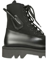 Givenchy Combat Boots - Black