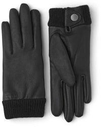 Hestra Leather Idun Gloves - Black