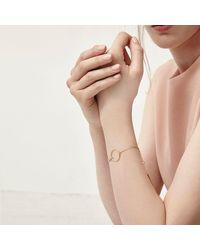 Alison Fern Jewellery Hawk Circle Bracelet - Metallic