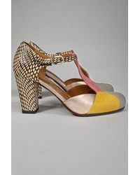 Chie Mihara Urit Shoes - Sun - Multicolor
