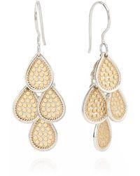 Anna Beck Chandelier Earrings - Metallic