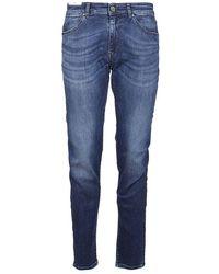 Pt05 Men's C5dj05z40minoa30ms75 Blue Other Materials Jeans