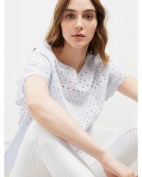 Great Plains - Broderie Top - Lyst