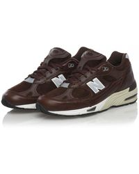 New Balance Flat Shoes - Brown