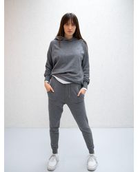 Chalk Charcoal Lucy Lounge Pant - Grey