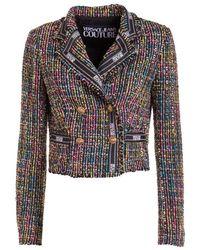 Versace Jeans Couture Short Jacket Chanel Style - Multicolor