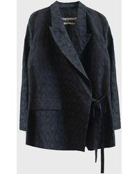Uma Wang Khloe Jacket - Black