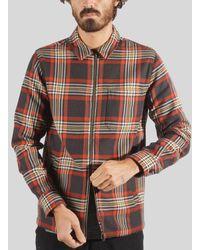 Portuguese Flannel Sofa Zipper Jacket Color - Multicolor