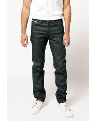 Naked & Famous - Weird Guy Rusted Selvedge Jean - Lyst