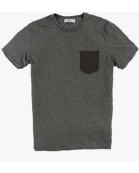 Groceries Apparel - Contrast Pocket Tee - Lyst
