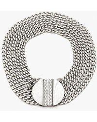Nicole Romano | Multi Chain Medallion Necklace | Lyst