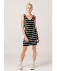 Azalea - Striped Bodycon Jumper Dress - Lyst
