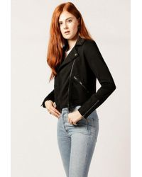 Azalea - Terry Moto Jacket - Lyst