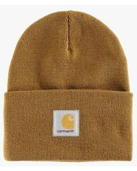 56b357e14cf Carhartt Wip Acrylic Watch Hat in Brown - Lyst