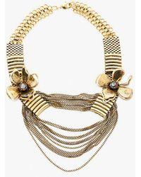 Nicole Romano - Flower Bomb Draped Necklace - Lyst