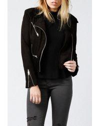 Azalea - Duvall Moto Jacket - Lyst
