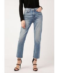 Hudson Jeans - Zoeey High Rise Straight Crop - Lyst