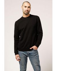 Naked & Famous - Slimcrew Black French Terry - Lyst