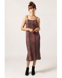 Again - Delilah Corduroy Dress - Lyst