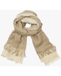 Azalea - Waffle Weave Blanket Scarf - Lyst