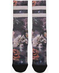 Stance - Dark Blooms Sock - Lyst