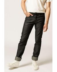 Naked & Famous - Weird Guy Hemp Blend Selvedge - Lyst