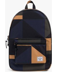Herschel Supply Co. Settlement Two Tone Backpack in Natural for Men ... 3b5f7e391a954