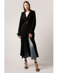 Azalea - Nadine Rain Guard Trench Coat - Lyst