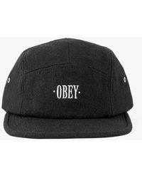 Obey - Subtle 5 Panel Hat - Lyst