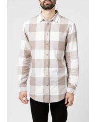 I Love Ugly - Check Zip Shirt - Lyst