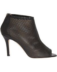 Rebecca Taylor - Greta Perforated Bootie - Lyst