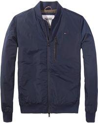 Hilfiger Denim Modern Bomber Jacket - Blue