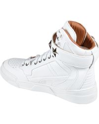 Givenchy Sneaker Tyson Donna Pelle Bianco - Lyst