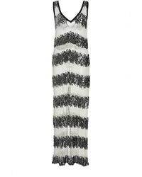 Houghton Ronson Sequin Dress - White